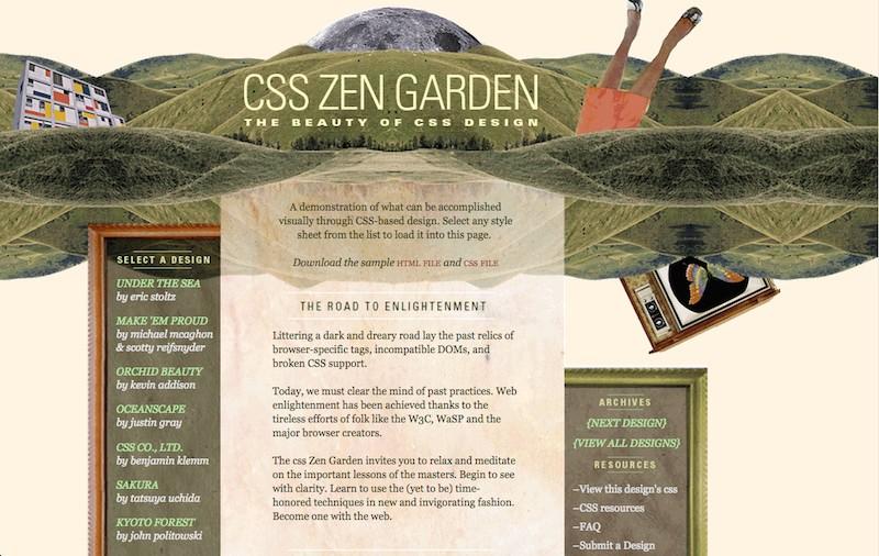 zen chaos - Css Zen Garden