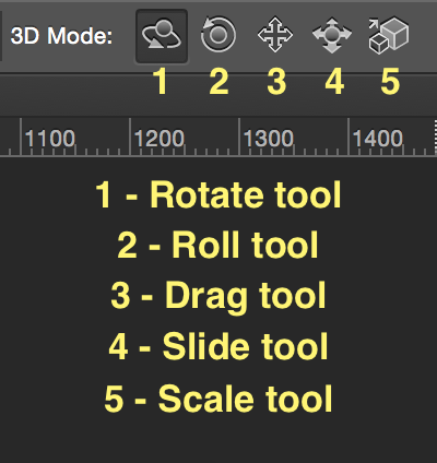3D Move Tool Options